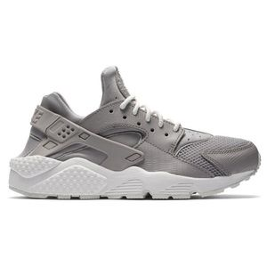 Nike Kids Grey Huarache Athletic Sport Sneakers